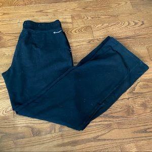 💥5/$25 Champion black sweatpants in size medium